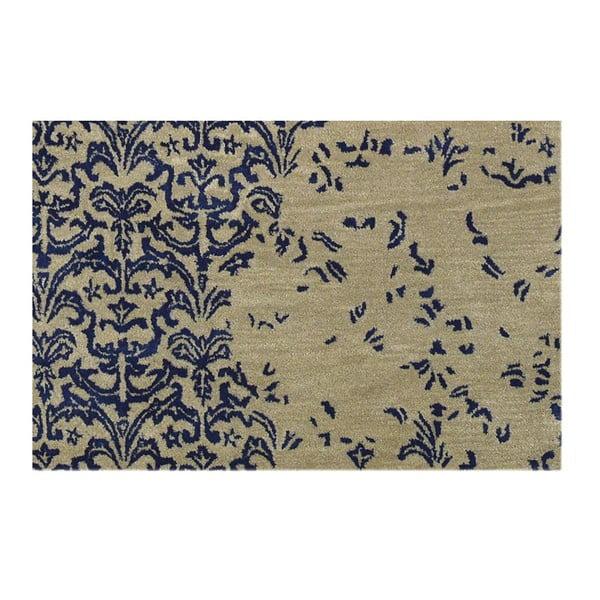 Vlnený koberec New Jersey Dark Blue, 153x244 cm