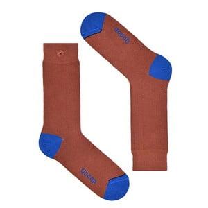 Ponožky Qnoop Marsala, veľ. 39-42