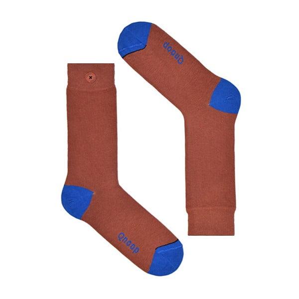 Ponožky Qnoop Marsala, veľ. 43-46