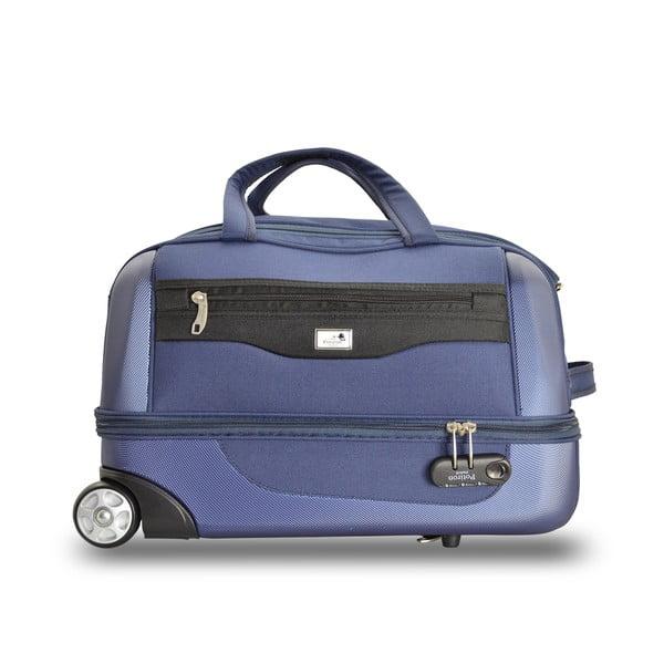 Sada 2 cestovných tašiek na kolieskoch Roulettes Blue