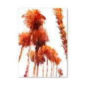 Plagát Trees Orange