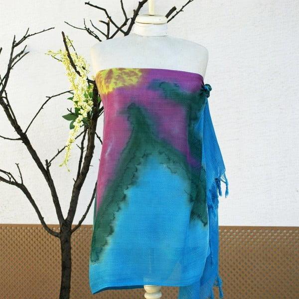 Pareo šatka Cloth Turquoise, 70x190 cm