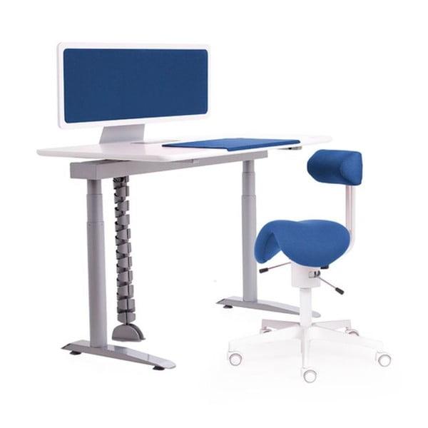 Ergo stôl, modrý