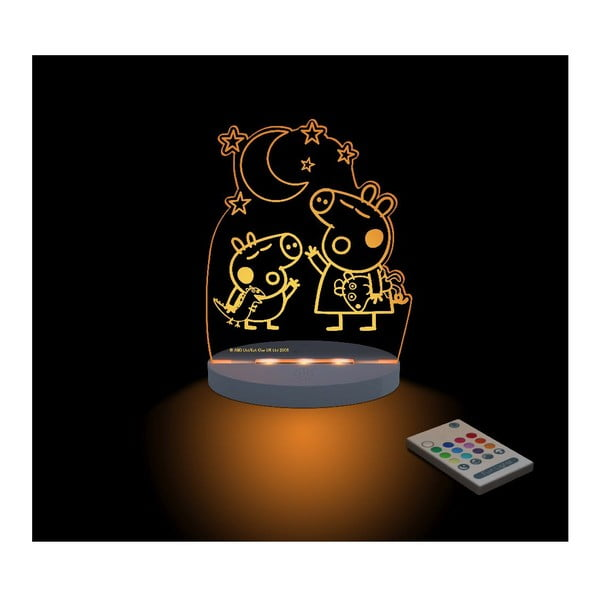 Detské LED nočné svetielko Peppa Pig George
