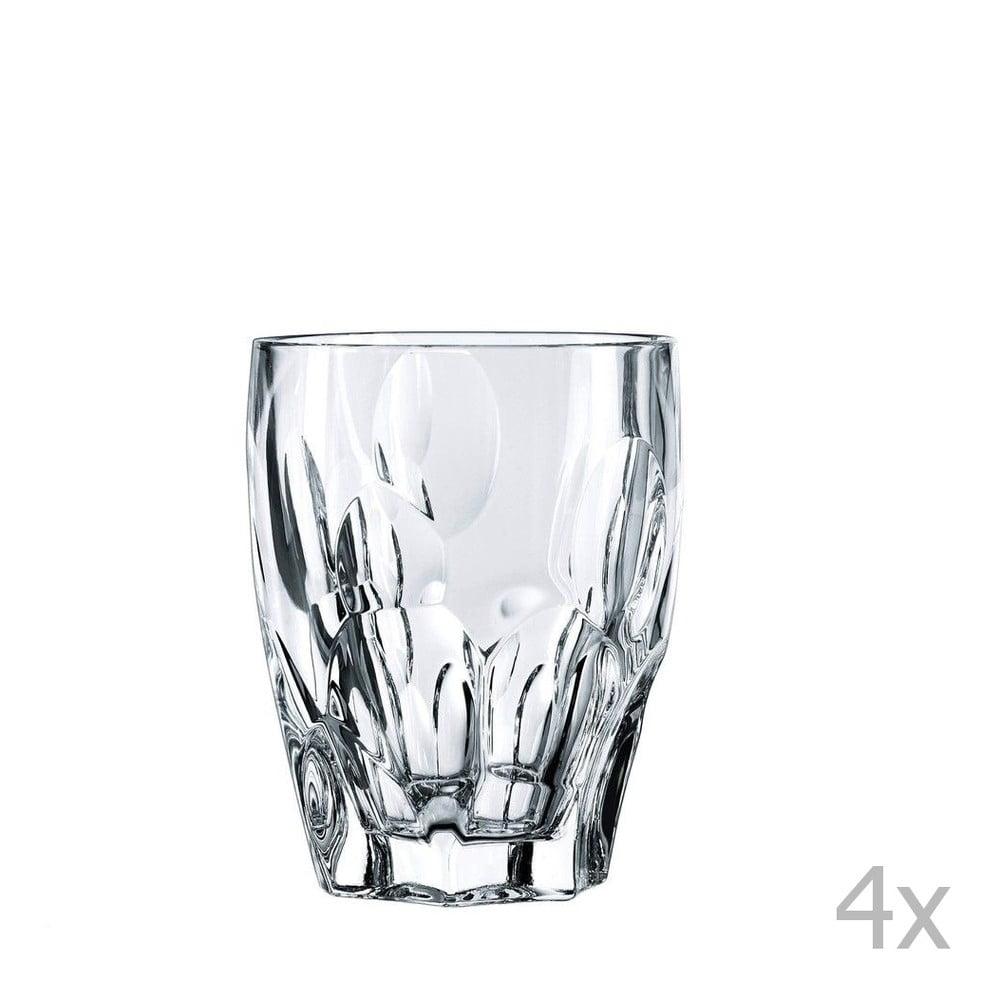 Sada 4 pohárov na whisky z krištáľového skla Nachtmann Sphere, 300 ml