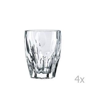Sada 4 pohárov na whiskey z krištáľového skla Nachtmann Sphere, 300 ml