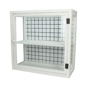 Presklená skrinka Cabinet, 45x20x44,5 cm