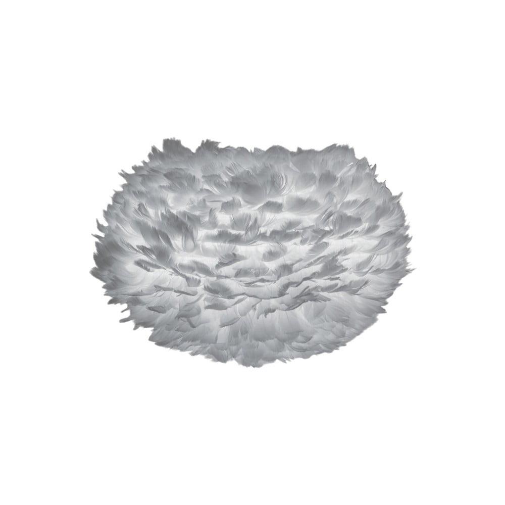 Sivé tienidlo z husieho peria VITA Copenhagen EOS, Ø 45 cm