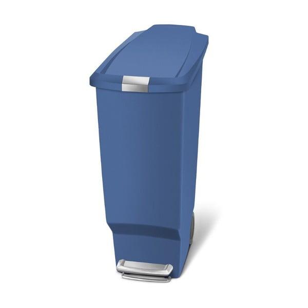 Pedálový kôš na odpadky Sisi 40 l, modrý