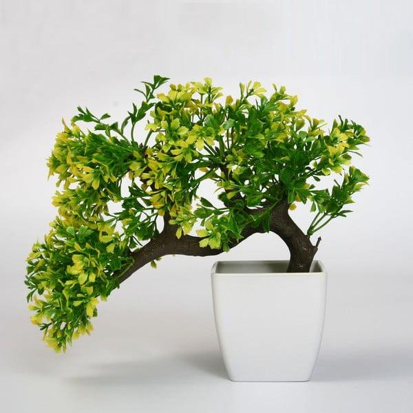 Umelý kvet v kvetináči Bonsai Verde