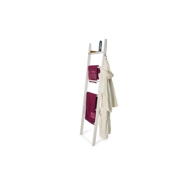 Biely oporný vešiak z bukového dreva Arredamenti Italia Axel