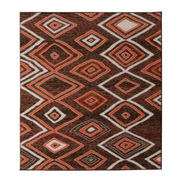 Koberec Hanse Home Prime Pile Chaos Brown, 60 x 110 cm