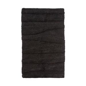Čierna kúpeľňová predložka Zone Flow, 50 x 80 cm