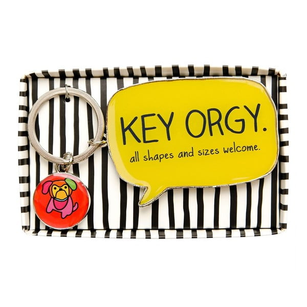 Kľúčenka Happy Jackson Key Orgy