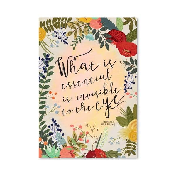 Plagát od Mia Charro - What Is Essential