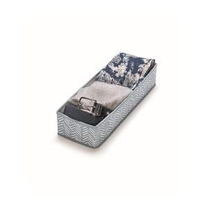 Modrý úložný box Cosatto Tweed, dĺžka 42 cm