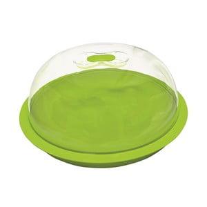 Zelený podnos na tortu s poklopom ForMe