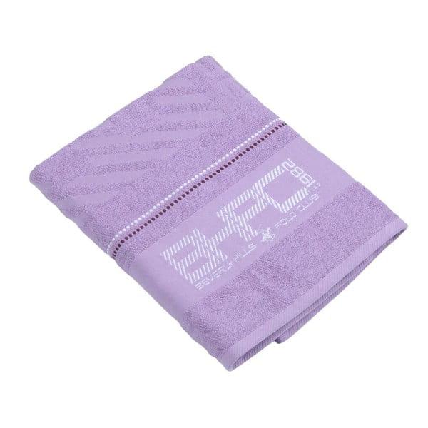 Fialová bavlnená osuška BHPC, 80x150cm