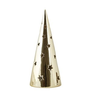 Svietnik KJ Collection Tealight Holder Tree Gold, 24 cm