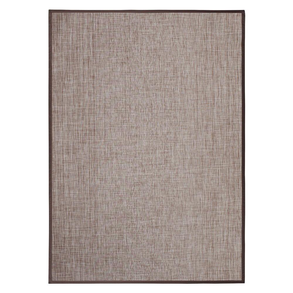 Hnedý vonkajší koberec Universal Simply, 150 x 100 cm
