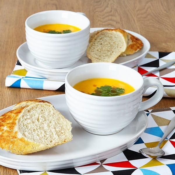 Miska na polievku a tanierik Soup and Sandwich