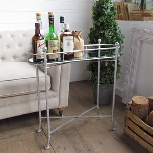 Barový stolík Silver Vintage