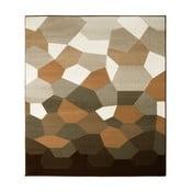Hnedý koberec Prime Pile Abstract, 160x230 cm