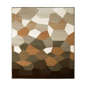 Koberec Hanse Home Prime Pile, Abstract Brown, 240 x 330 cm