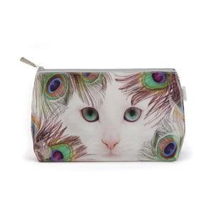 Toaletná taštička Feather Cat
