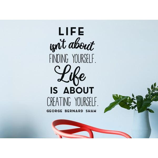 Dekoratívna nástenná samolepka Creating Yourself