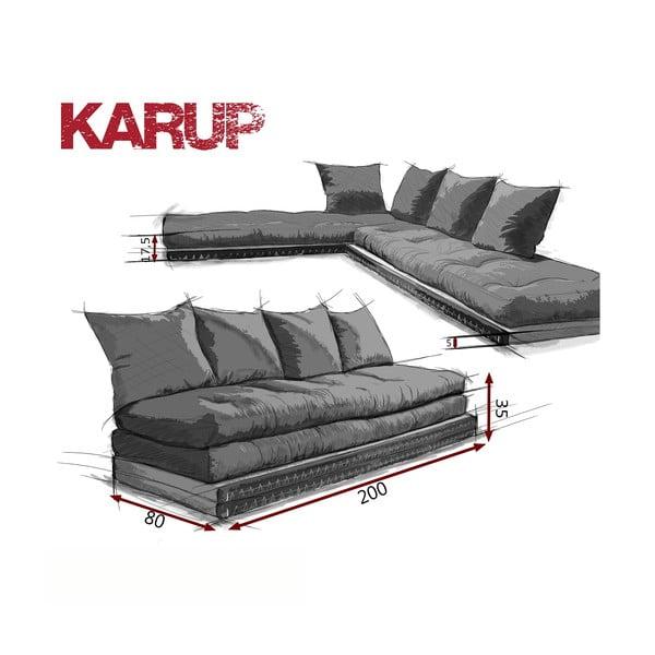 Variabilná pohovka Karup Chico Red