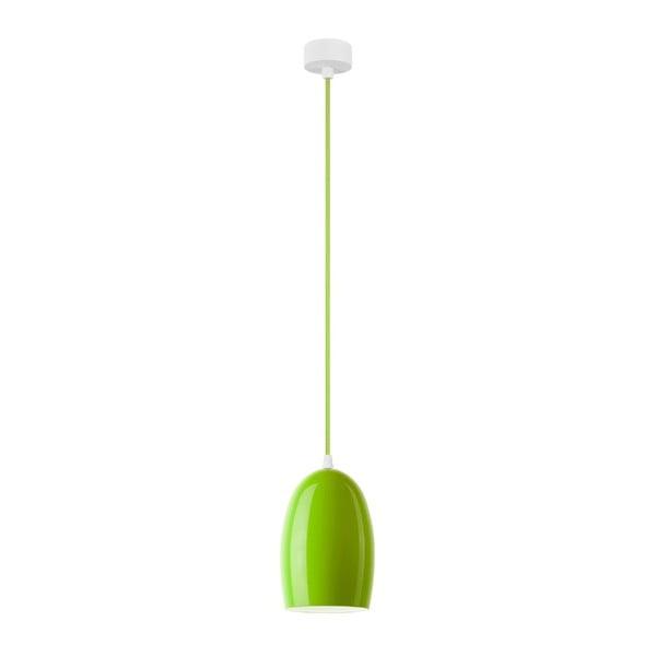 Zelené stropné svietidlo Sotto Luce Ume