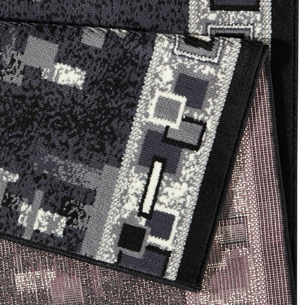 Koberec Basic Retro, 80x300 cm, sivý