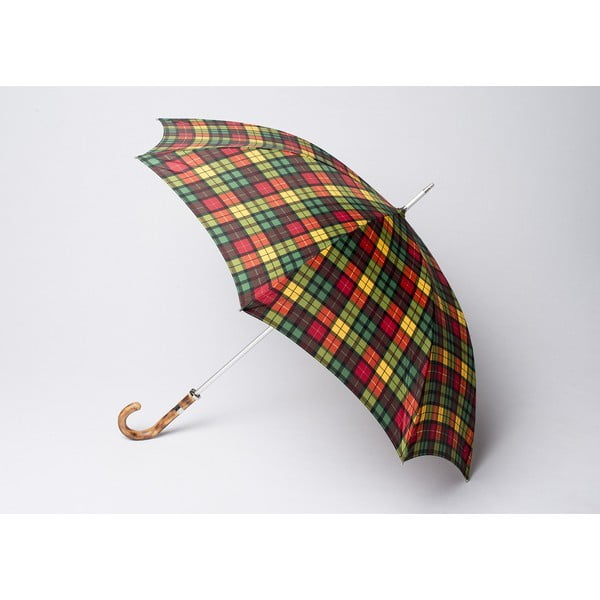 Dáždnik Tartan, zelený