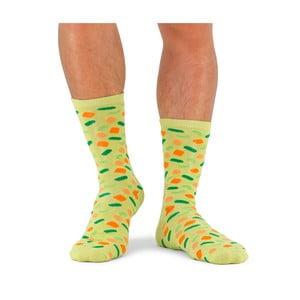 Unisex polievkové ponožky v plechovke Luckies of London Spring Veg