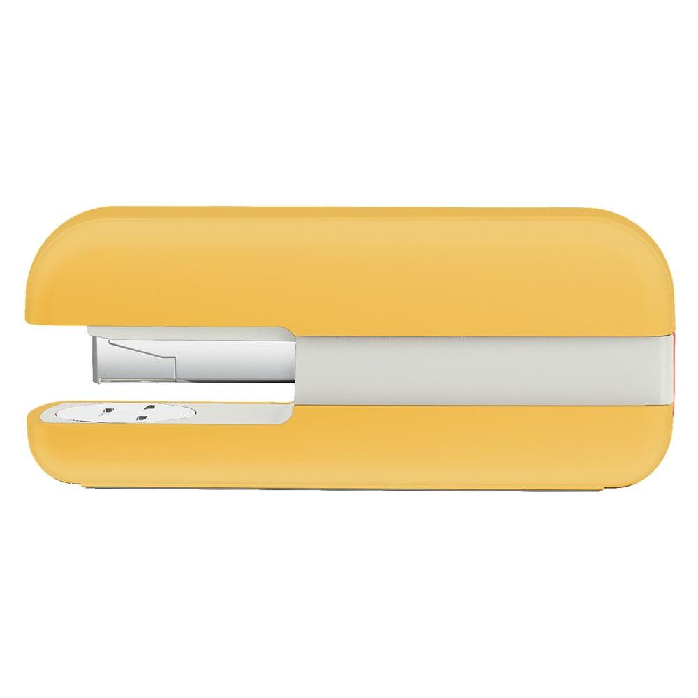 Žltá kancelárska zošívačka Leitz Cosy