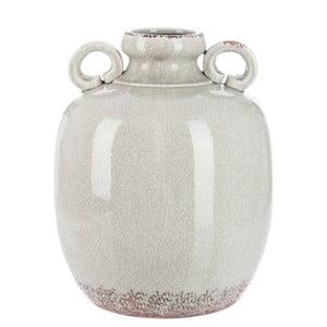 Keramická váza Light Grey, 37 cm