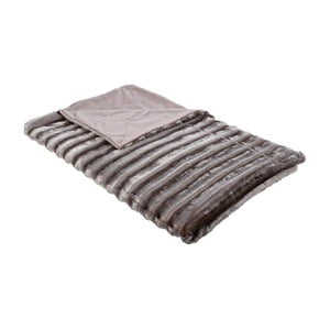 Deka Synthetic Fur Beige, 150x180 cm