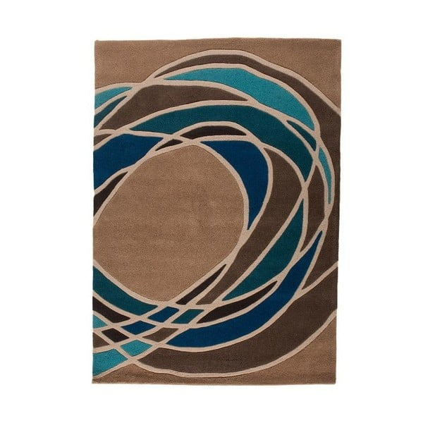 Koberec Flair Rugs Spectre Taupe/Teal, 120x180cm
