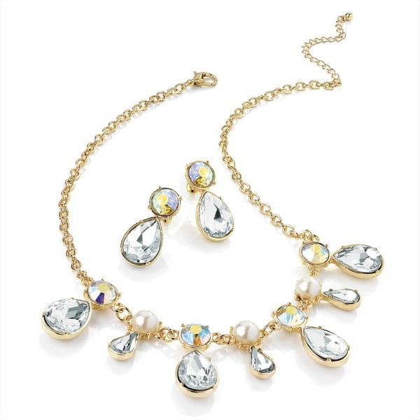 Sada náhrdelníkov a náušníc Chain