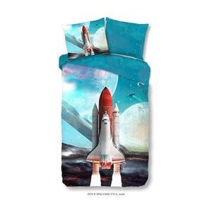 Detské bavlnené obliečky Muller Textiels Space Shuttle, 140×200 cm
