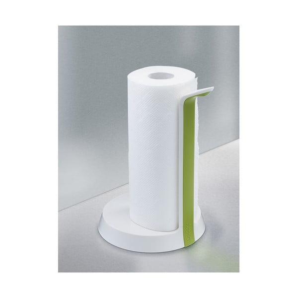 Bielo-zelený stojan na papierové utierky Joseph Joseph Easy-Tear
