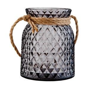 Svietnik Clayre & Eef Tealight Black, 10x12cm