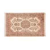 Ručne viazaný koberec Kashmirian, 133x79 cm