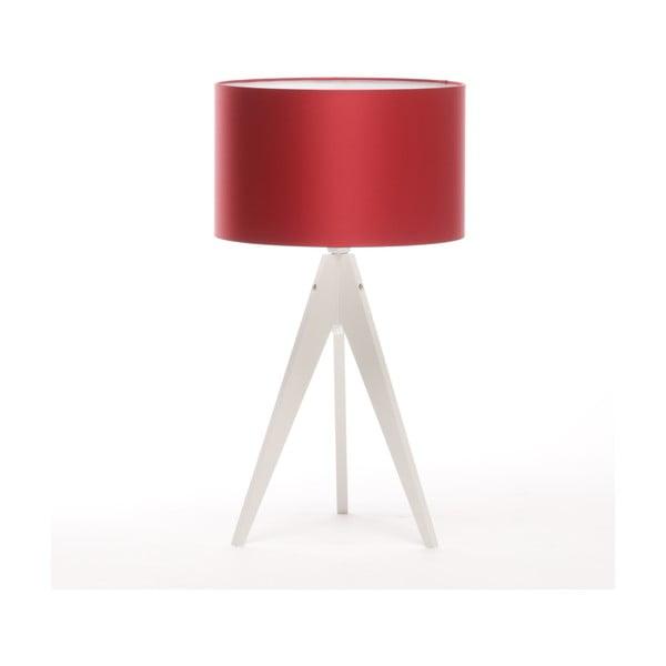 Stolná lampa Artist Red/White, 65 cm