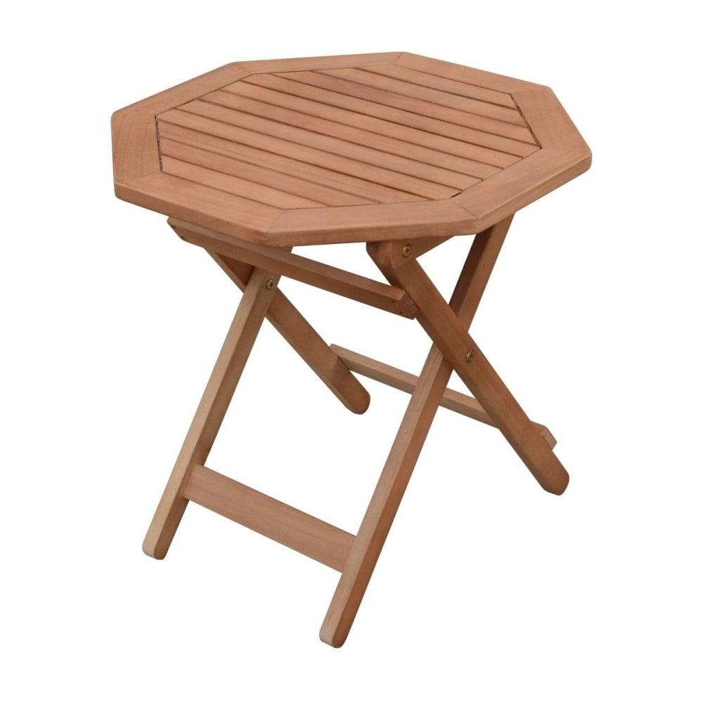 Záhradný skladací odkladací stolík z eukalyptového dreva ADDU Mayfield