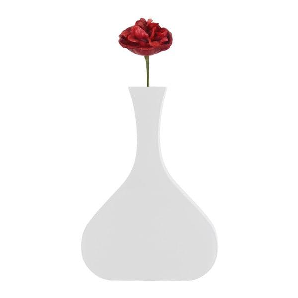 Nástenná váza Vanity Tall White