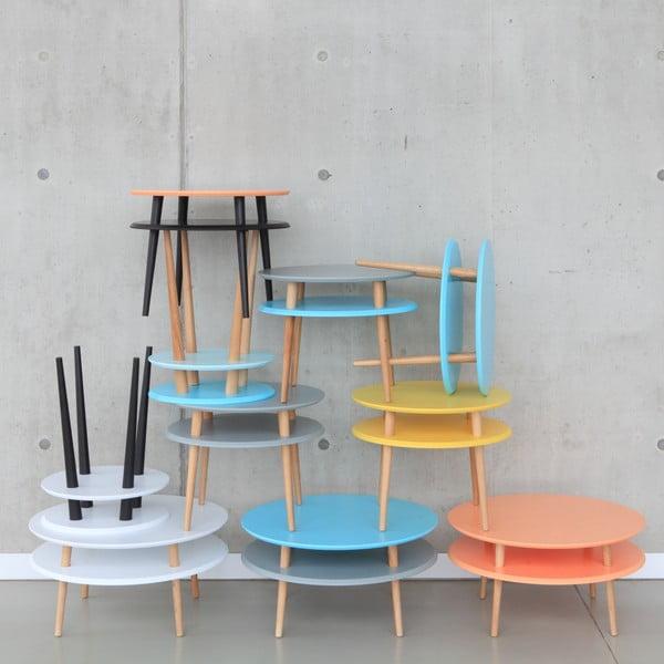 Svetlotyrkysový konferenčný stolík Ragaba UFO,Ø45cm