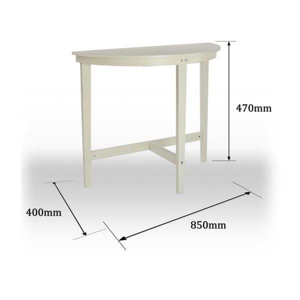 Odkladací konzolový stôl Chatelet Cream