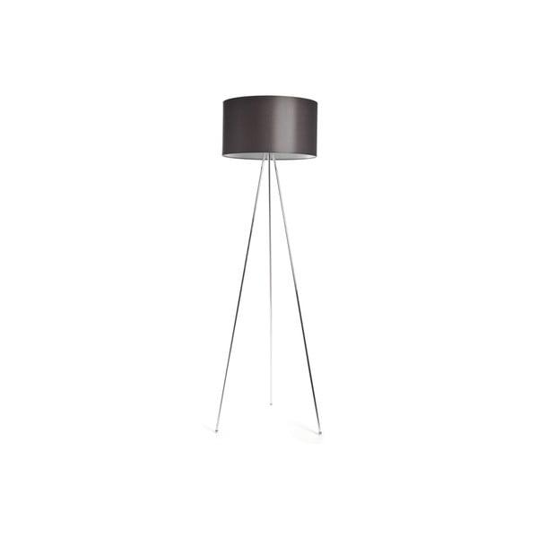 Tripod lampa Simple Chrome/Brown
